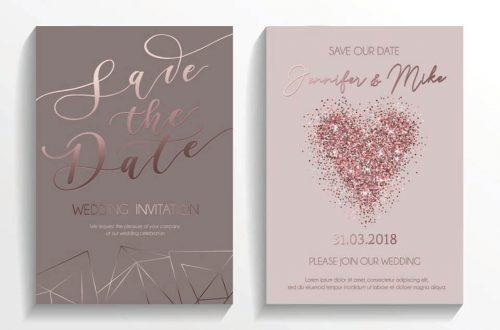 Pozivnice za venčanje- La Perla